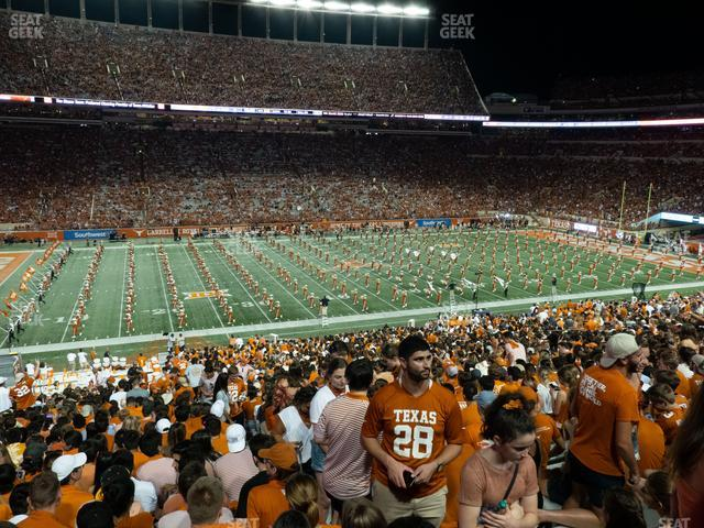 Darrell K Royal - Texas Memorial Stadium Section 31 view