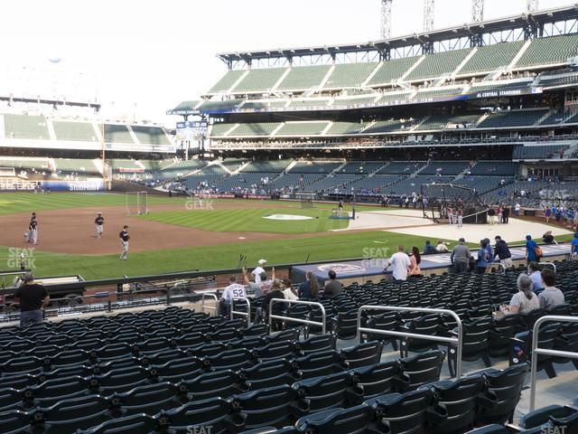Citi Field Section 124 view