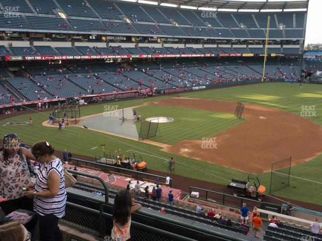 Angel Stadium of Anaheim Section 338 view