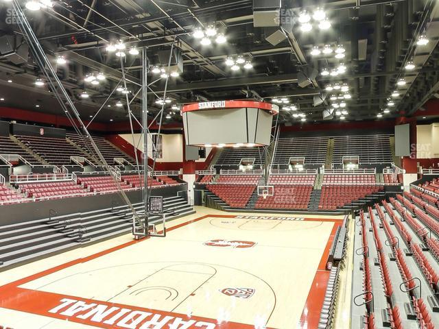 Maples Pavilion Section 16 view
