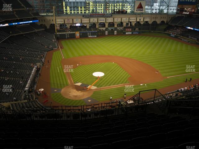 Minute Maid Park Section 422 view
