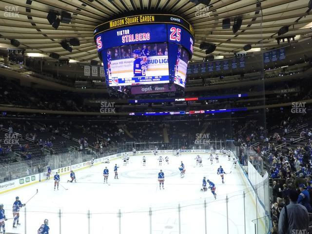 Madison Square Garden Section 103 view