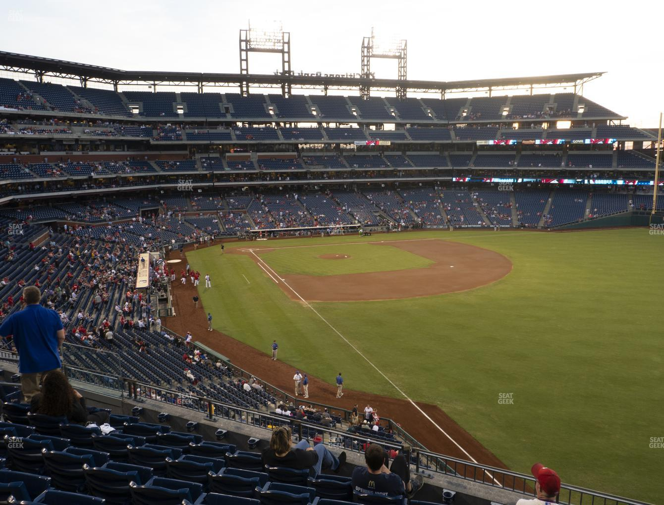 Philadelphia Phillies at Citizens Bank Park Section 207 View