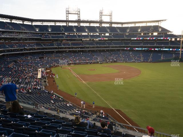 Citizens Bank Park Section 207 view