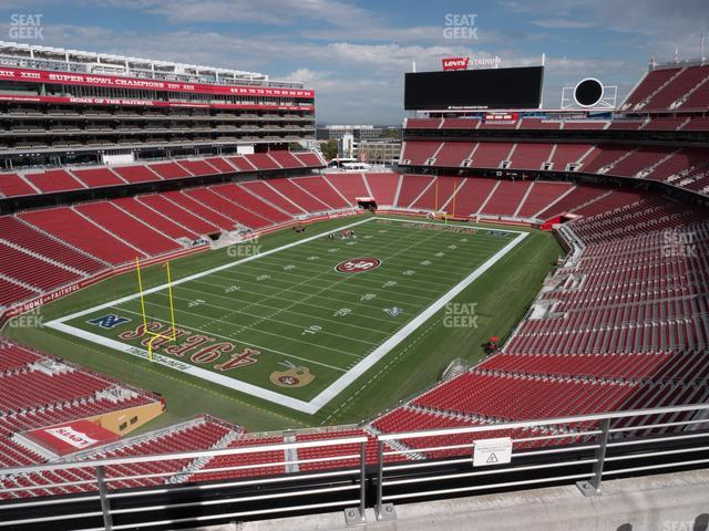 Levi's Stadium Section 322 view