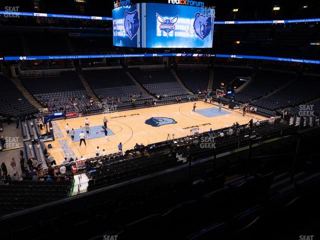 FedExForum Pinnacle Club 2 view