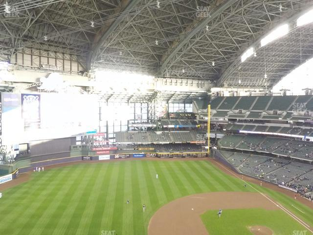 Miller Park Section 431 view