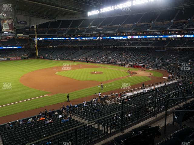 Minute Maid Park Section 209 view