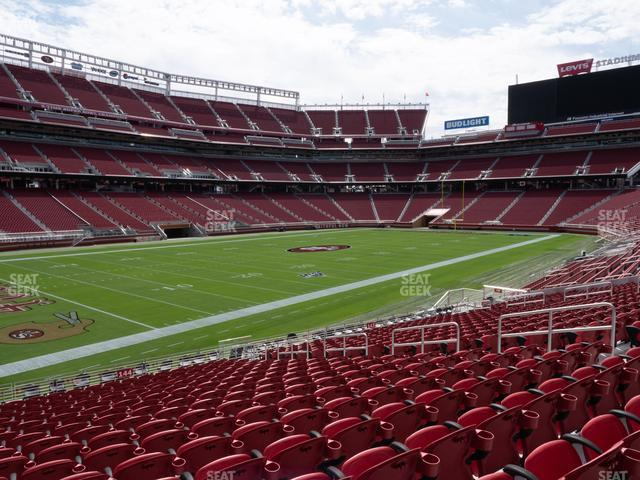 Levi's Stadium Section 144 view