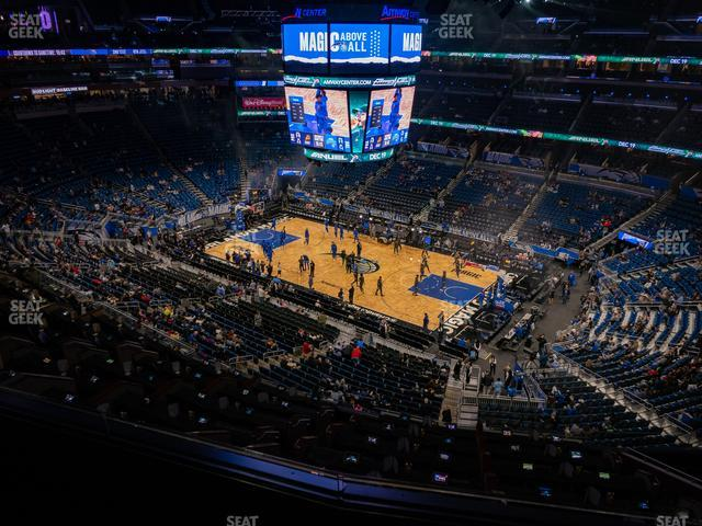 Amway Center Section 222 view