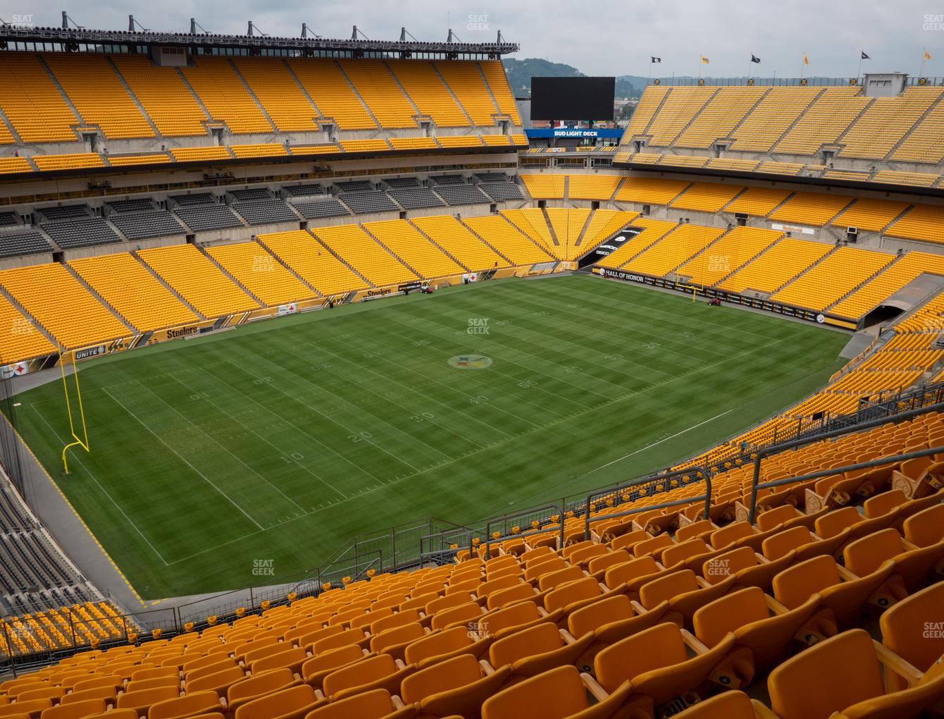 Pittsburgh Steelers at Heinz Field Section 505 View
