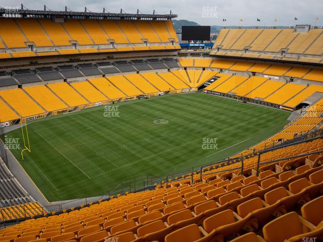 Heinz Field Section 505 view