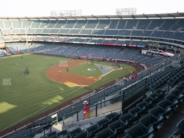 Angel Stadium of Anaheim Section 508 view