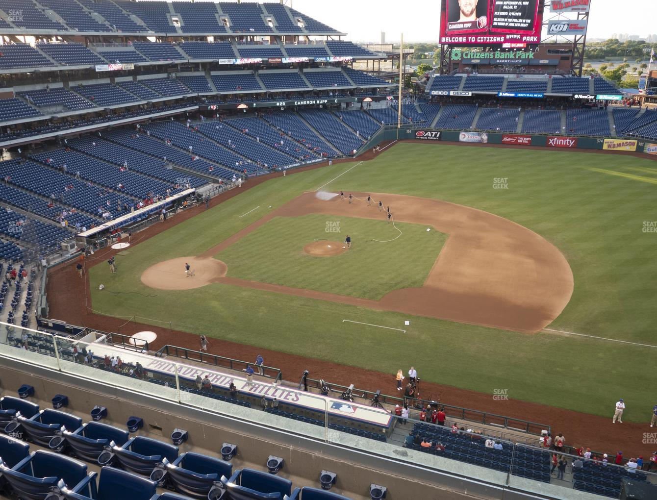 Philadelphia Phillies at Citizens Bank Park Section 314 View