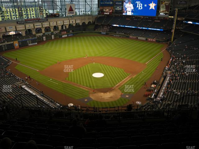 Minute Maid Park Section 418 view