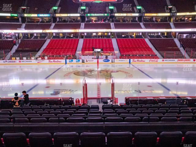 Canadian Tire Centre Section 106 view