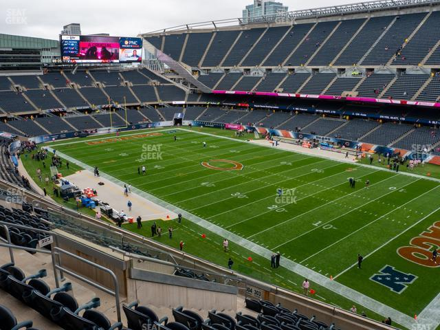 Soldier Field Section 303 view