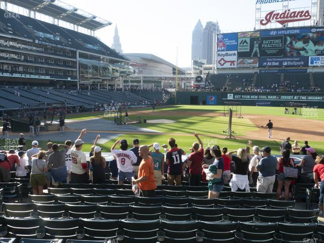 Progressive Field Section 144 view
