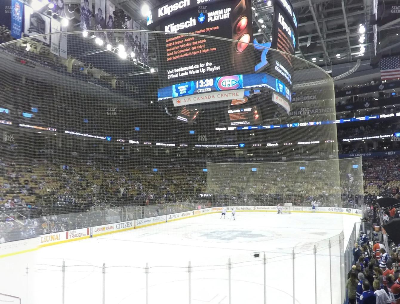 Toronto Maple Leafs at Scotiabank Arena Section 101 View