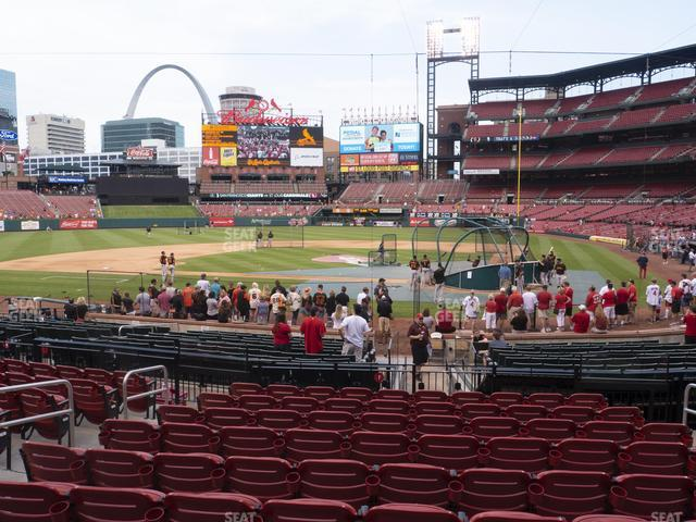 Busch Stadium Home Field Box 153 view