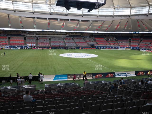 BC Place Stadium Section 243 view