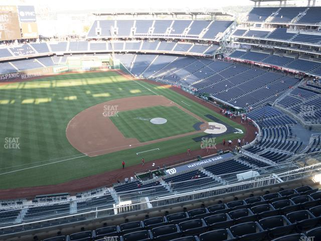 Nationals Park Section 406 view
