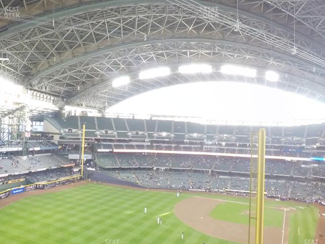 Miller Park Section 440 view