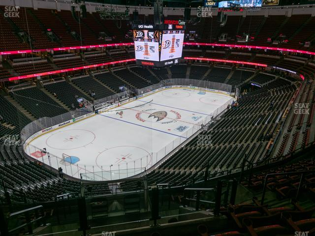 Honda Center Section 440 view