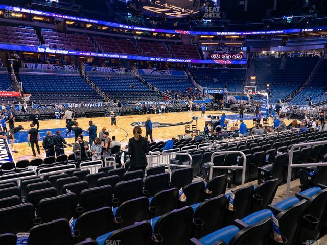 Amway Center Section 107 view
