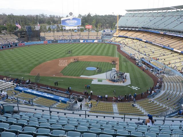 Dodger Stadium Reserve 9 view