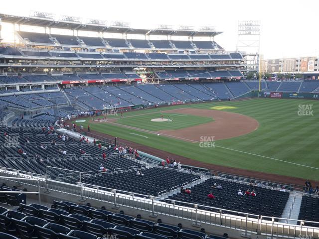Nationals Park Section 225 view