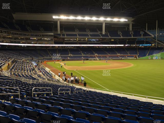 Marlins Park Section 2 view