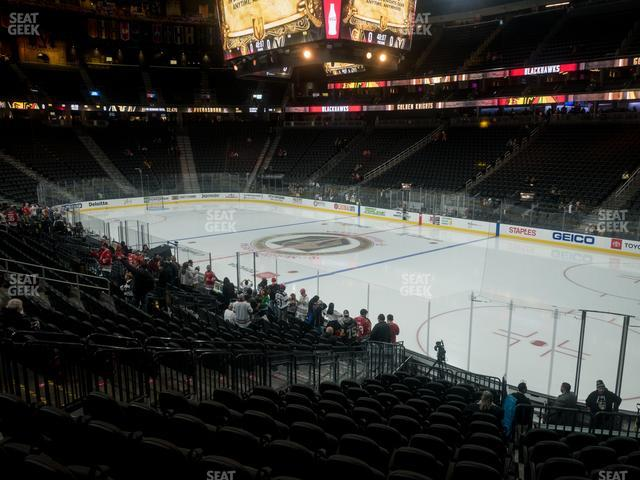 T-Mobile Arena Section 8 view