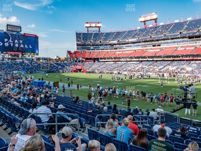 Nissan Stadium Section 131 view