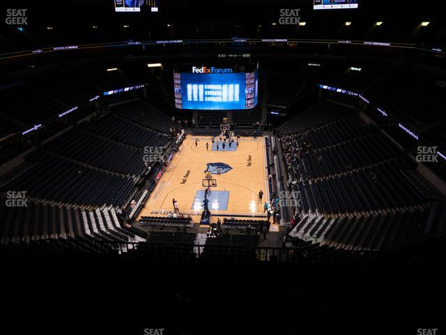 FedExForum Section 217 view