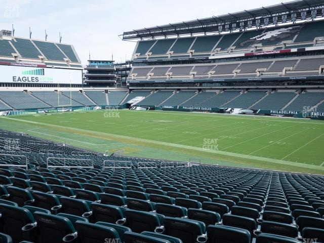Lincoln Financial Field Section 104 view