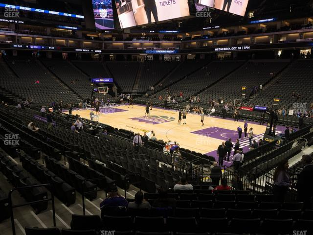 Golden 1 Center Section 104 view