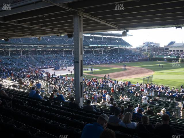 Wrigley Field Section 228 view