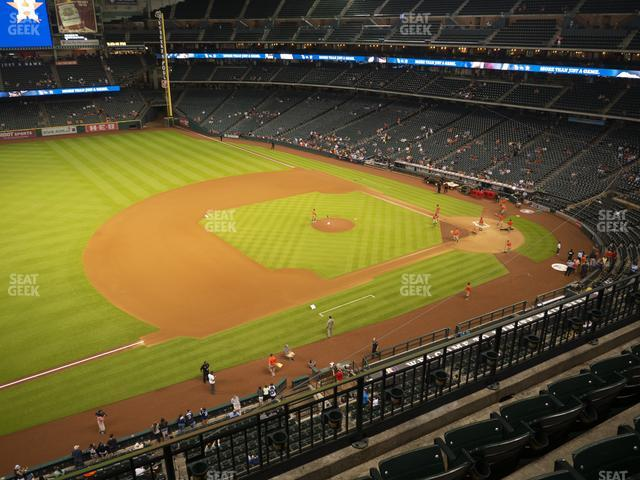 Minute Maid Park Section 310 view