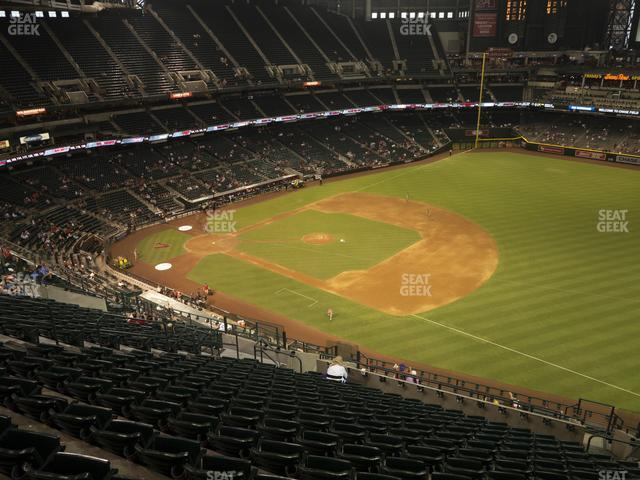 Chase Field Section 306 view