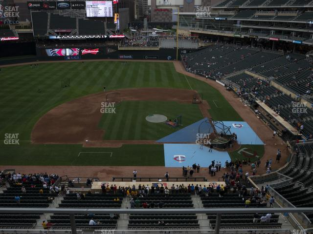 Target Field Section 220 view