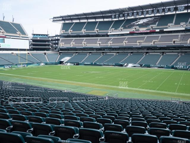 Lincoln Financial Field Section 103 view