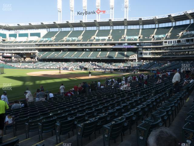 Progressive Field Section 174 view
