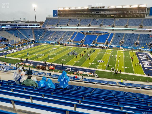Kroger Field Section 208 view