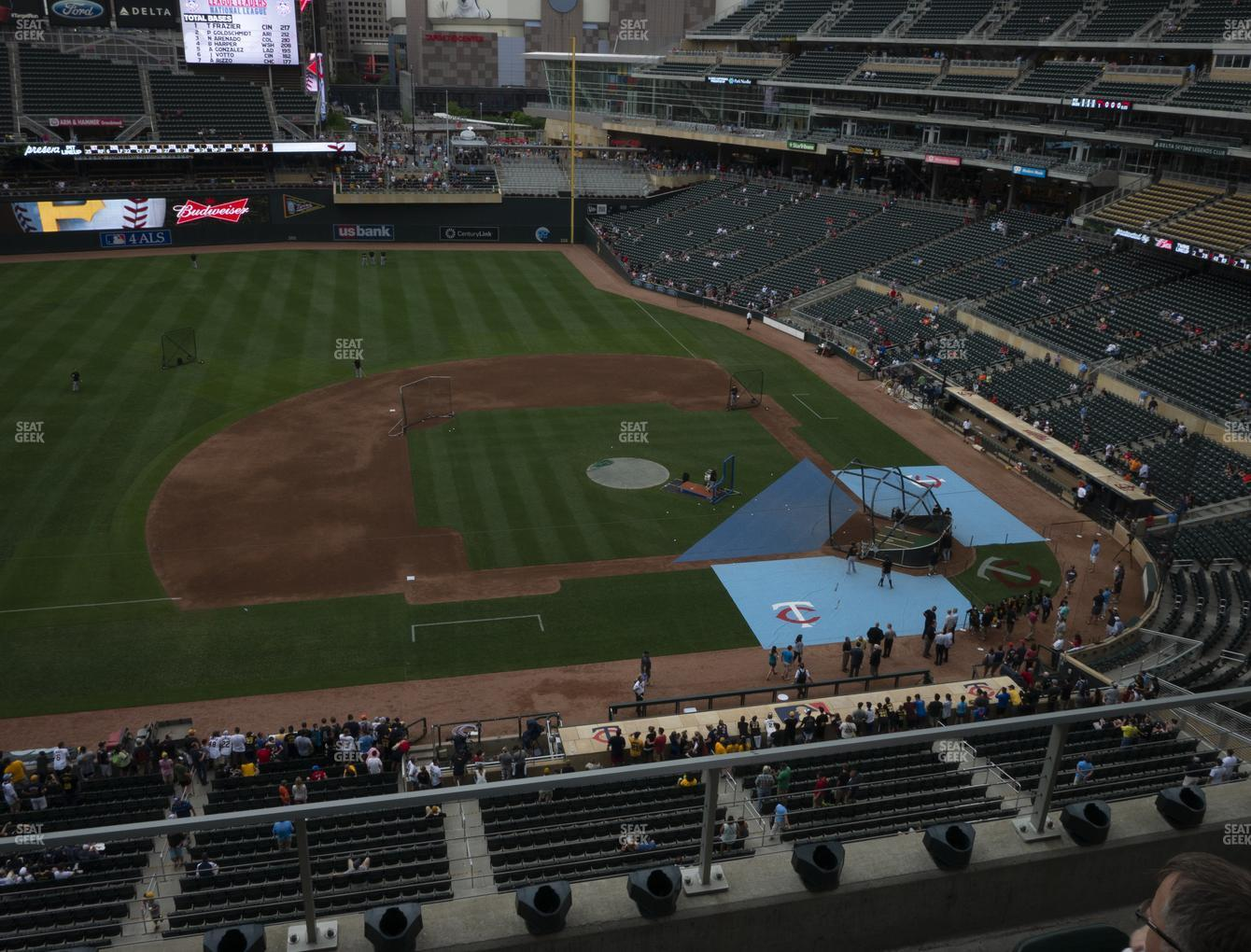 Minnesota Twins at Target Field Section 221 View