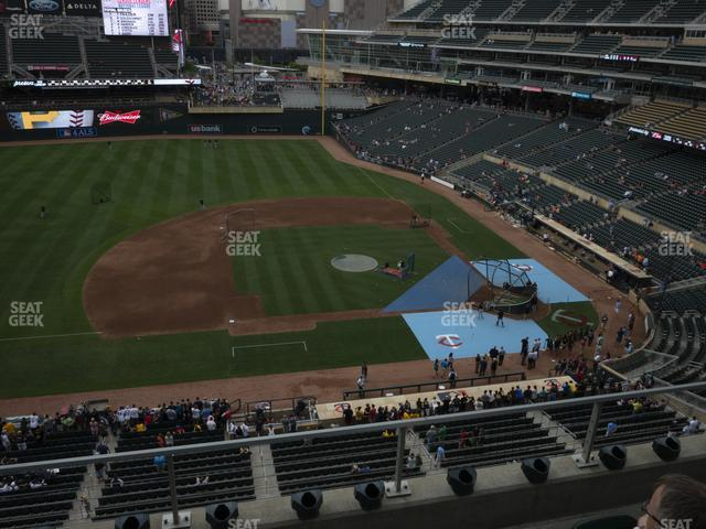 Target Field Section 221 view