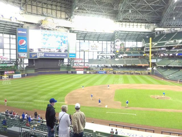 Miller Park Section 224 view