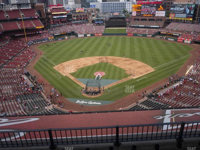 Busch Stadium Home Terrace 449 view