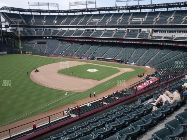 Globe Life Park Section 214 view