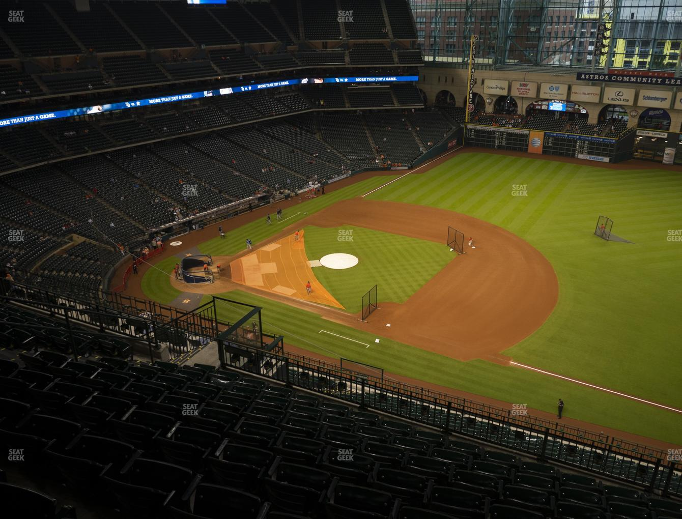 Houston Astros at Minute Maid Park Section 429 View